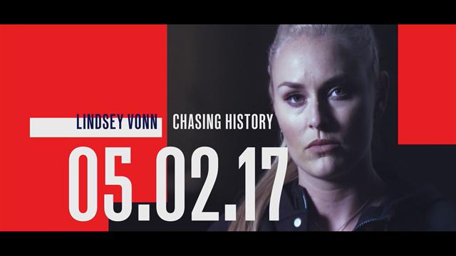 Eurosport estrenará en exclusiva el próximo 5 de febrero 'Chasing History' con Lindsey Vonn