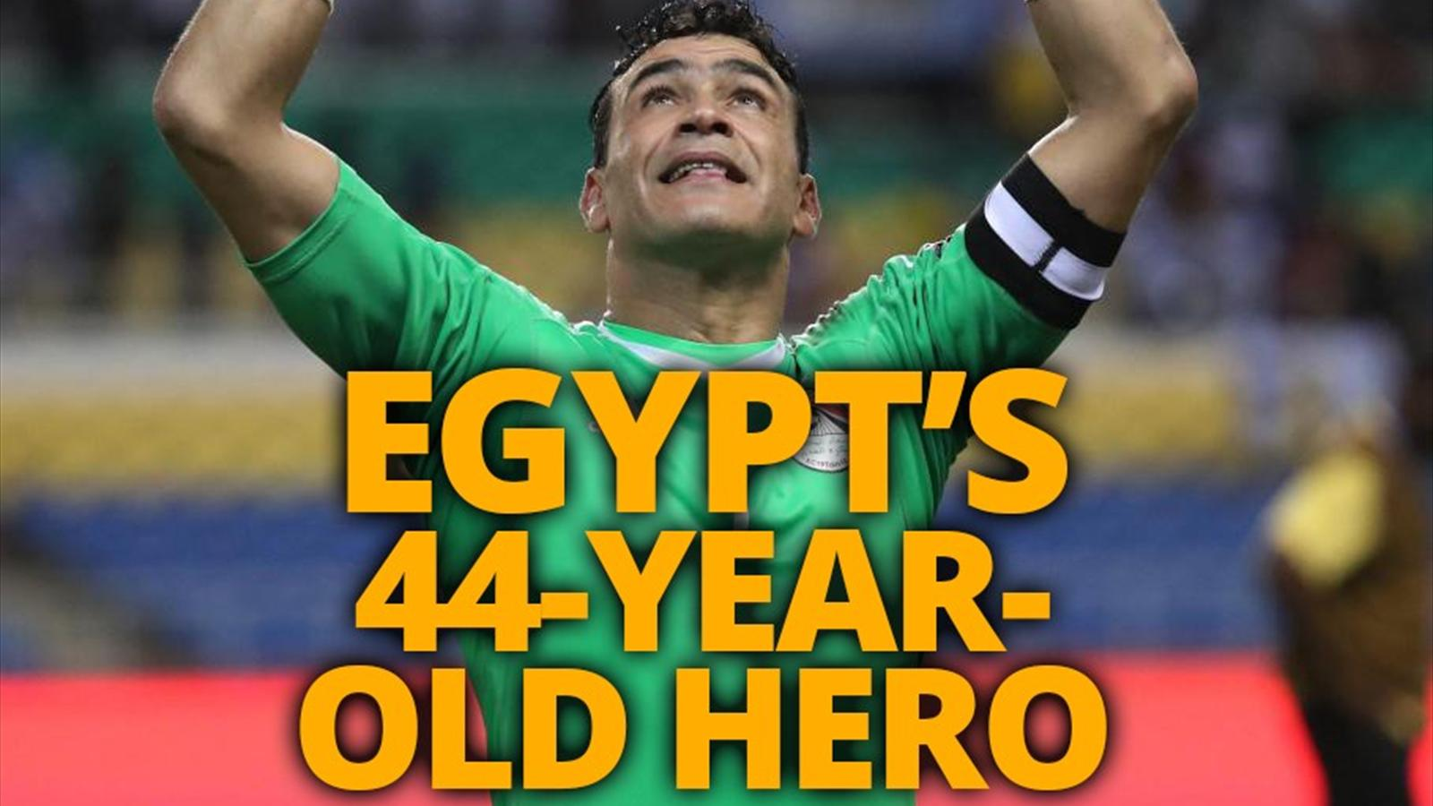 Live egypt cameroon africa cup of nations 5 february 2017 el hadary the 44 year old on the brink of afcon history sciox Choice Image
