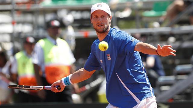 Tennis, coppa Davis: Argentina-Italia 1-2. In campo: Berlocq-Lorenzi