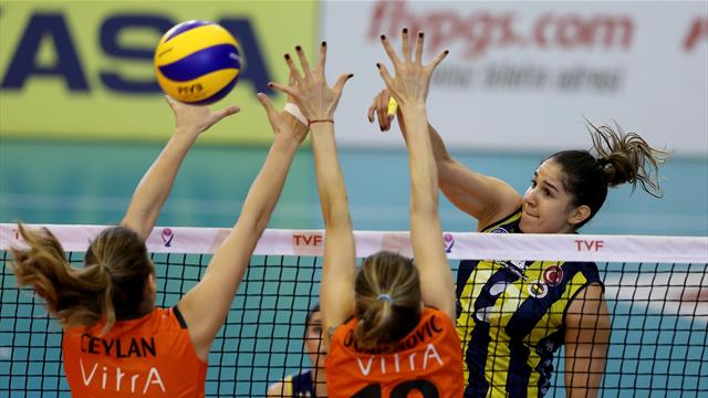 CEV Şampiyonlar Ligi'nde iki temsilcimiz birbirlerine rakip oldu