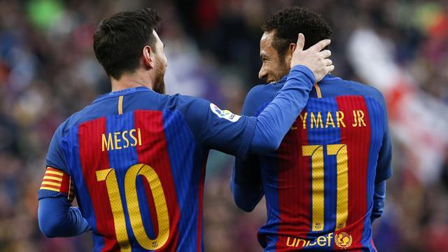 Neymar tells Barca: Get Messi contract sorted