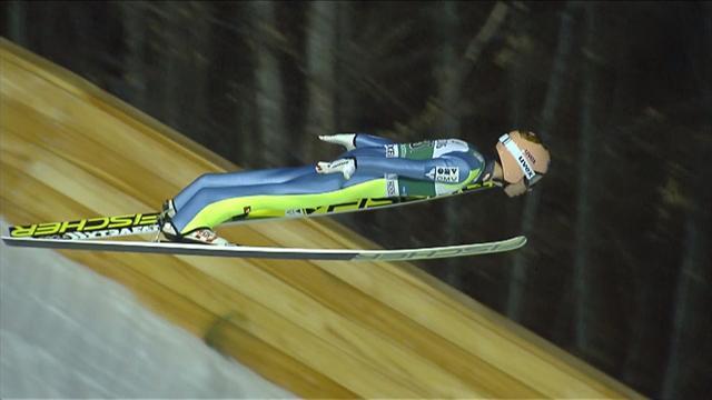 'Air Kraft' soars to ski flying win at Oberstdorf