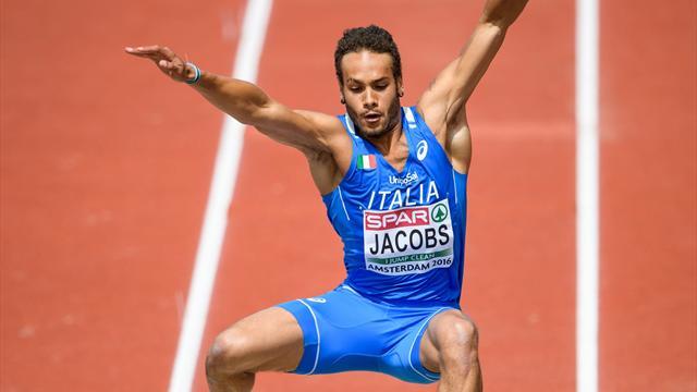 Marcell Jacobs, che ritorno! Salto da 8.05 a Madrid e minimo per gli Europei