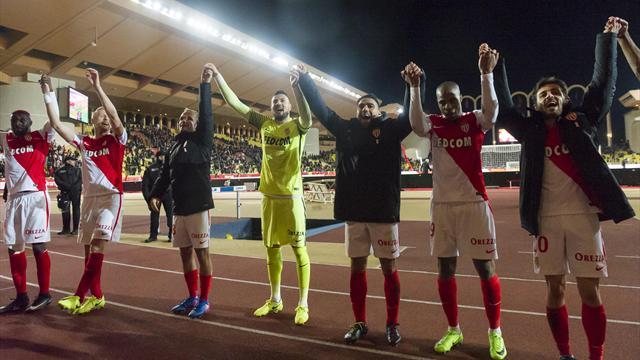 100 buts : Monaco joue dans la cour du Barça et du Real