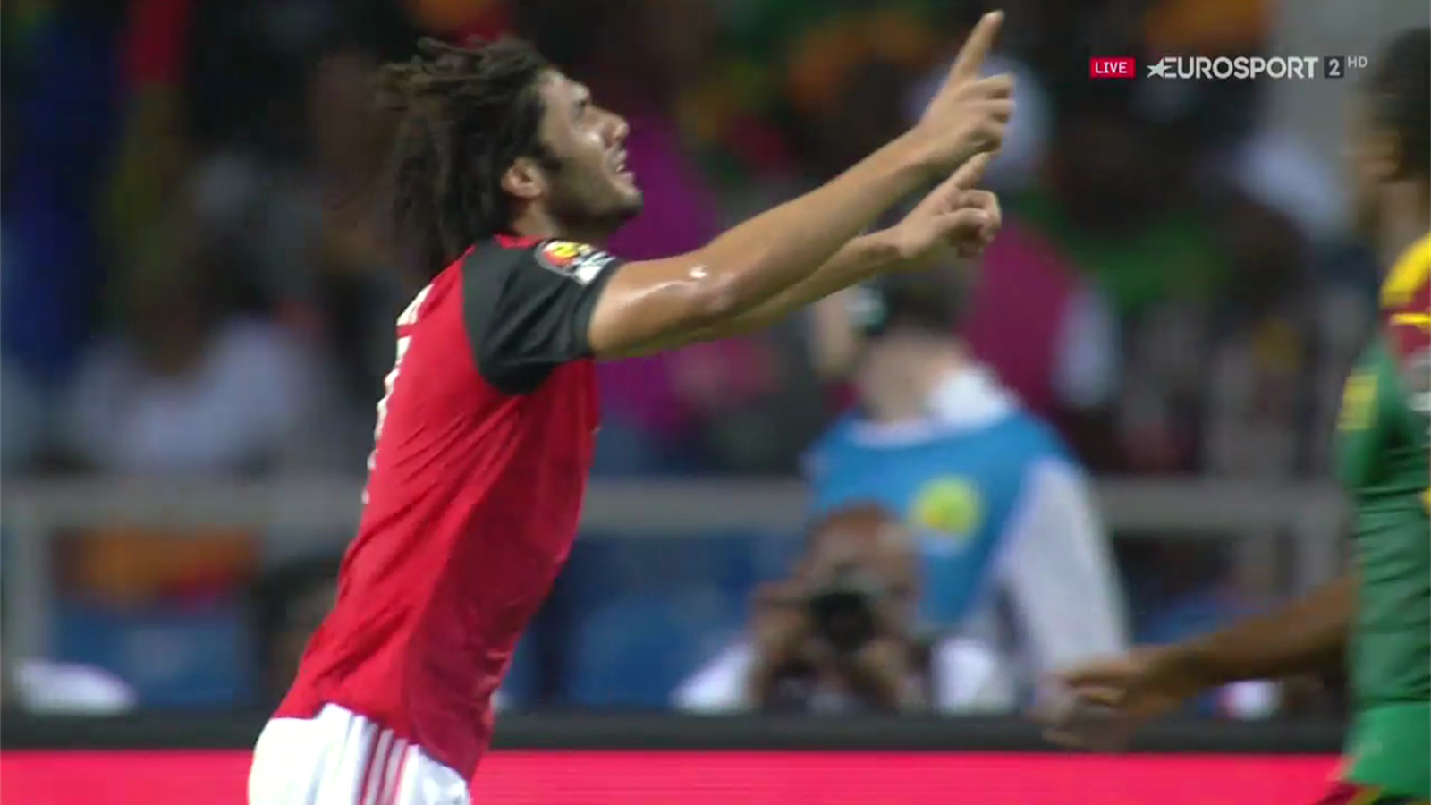 Live egypt cameroon africa cup of nations 5 february 2017 arsenals elneny gives egypt the lead in afcon final sciox Choice Image