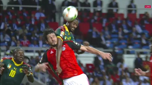 Nicolas N'Koulou draws Cameroon level against Egypt