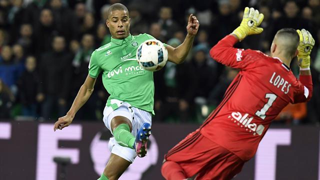 Saint-Etienne s'offre le derby contre Lyon