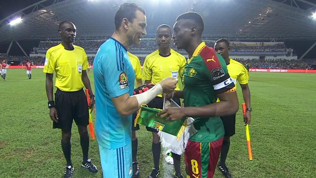 Africa Cup of Nations highlights - Cameroon strike late to beat Egypt