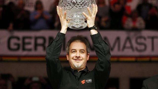 45-летний Хэмилтон взял первый титул в карьере, выиграв German Masters