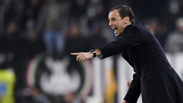 """Allegri: """"Teniamo lontano il pensiero della Champions, c'è il Palermo"""""""