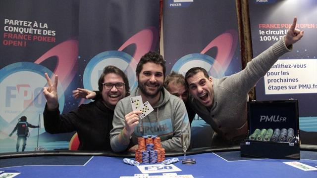 François Tosques s'impose sur le France Poker Open de Divonne-les-Bains !