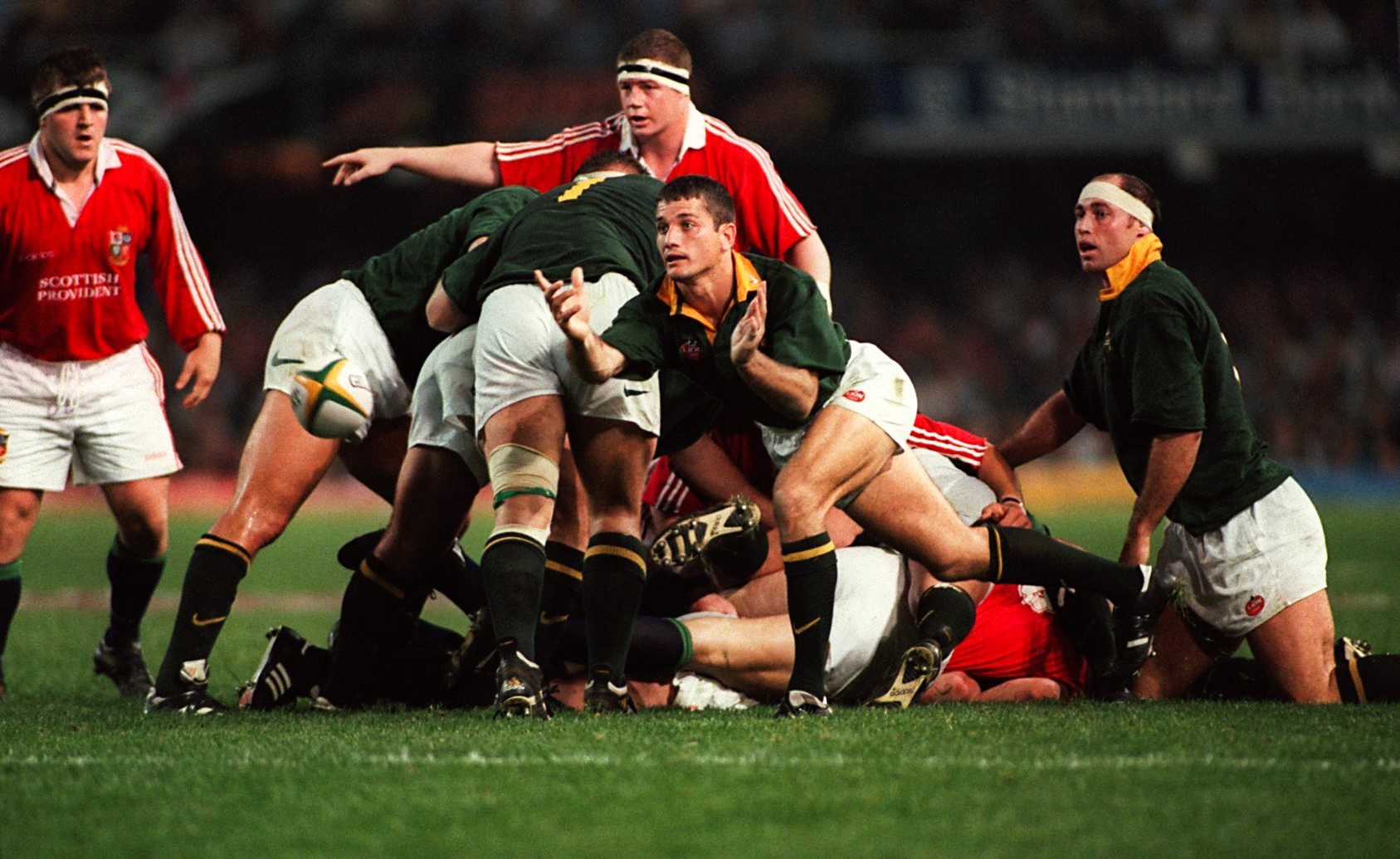 Joost Van der Westhuizen (South Africa) vs Lions