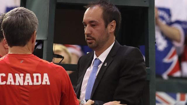 Injured Davis Cup umpire undergoes surgery on fractured eye socket