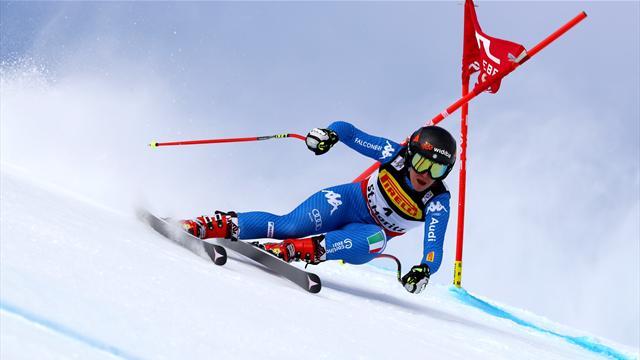 C'è la prima medaglia azzurra: Sofia Goggia è di bronzo nel gigante. Stravince la Worley!