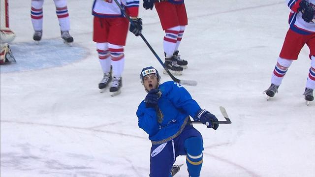 Казахстан пощадил Чехию, забросив всего 4 класснецких шайбы, но все равно победил