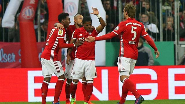 Le Bayern qualifié pour les quarts de la Pokal
