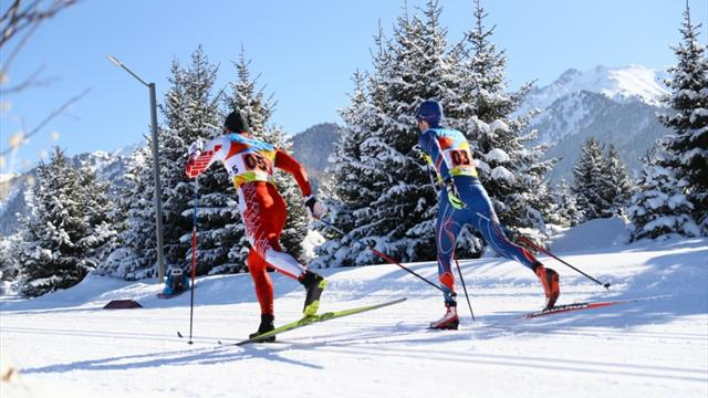 Friedrich and Margis hold healthy advantage at half-way stage of two-man World Championships