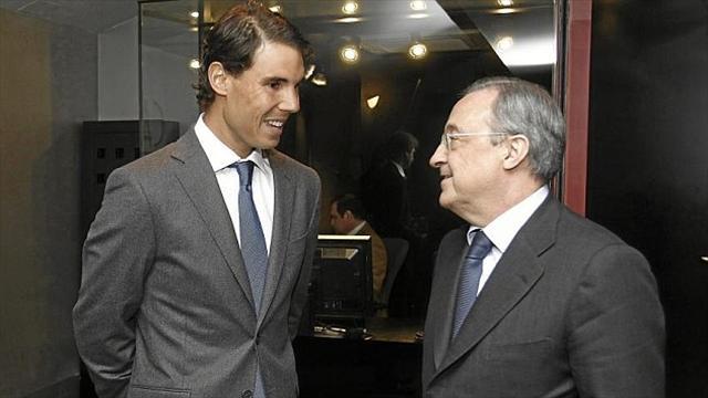 La imagen de Rafa Nadal alentará al madridismo antes del decisivo partido de Champions ante el PSG