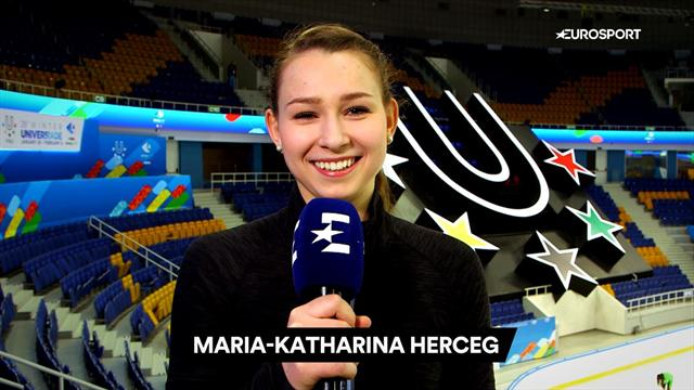 VIDEO: This or That with Maria-Katharina Herceg: Short Program or Free Skating? Meat or Veg?