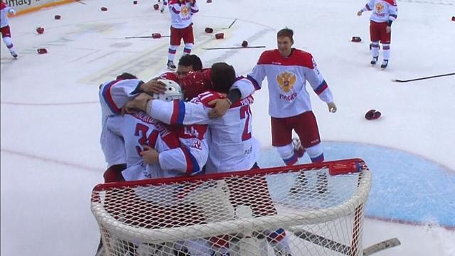 Russia beat Kazakhstan in Ice Hockey final