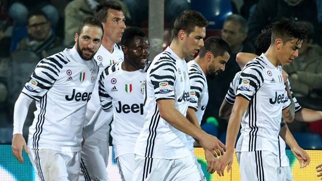 La Juventus reprend le large sur la Roma, le Milan gagne à neuf