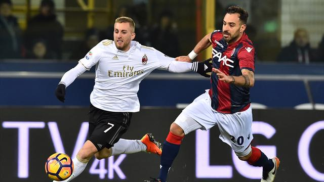 Serie A, Bologna-Milan 0-1: Deulofeu trascina i rossoneri in 9
