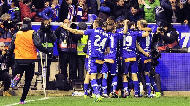 Alaves rejoint le FC Barcelone en finale
