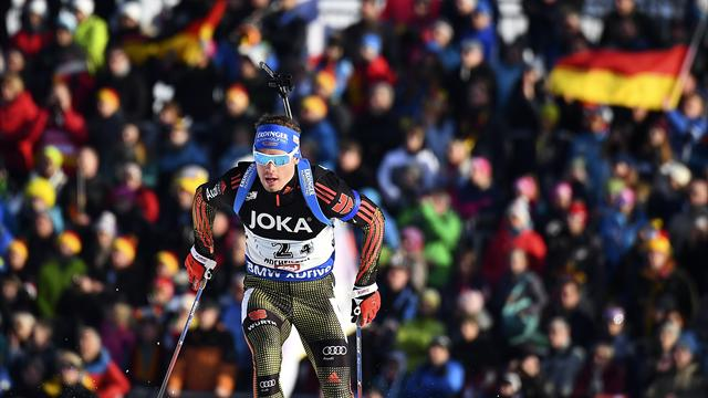 Schempp leads Germany home, Fourcade falls out with Russia