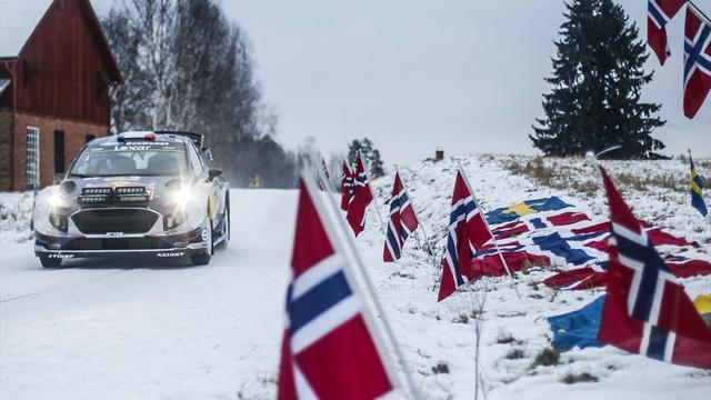 Sur la neige suédoise (et norvégienne), Ogier est encore prêt à surprendre
