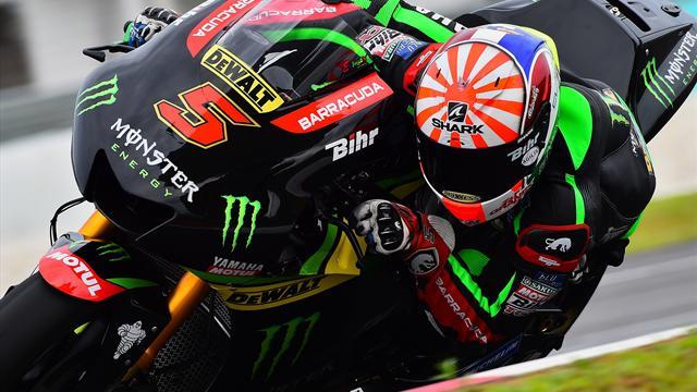 """""""Rossi a dit à Johann: 'Bravo, de ce que j'ai vu, tu roules très très bien !' """""""