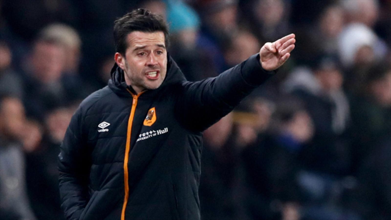 Marco Silva not getting carried away despite improved Hull form - Football - Eurosport UK