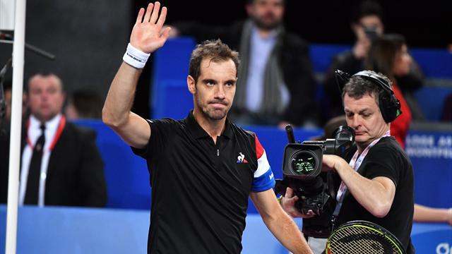 Gasquet a ramé mais il vise toujours un 4e titre à Montpellier
