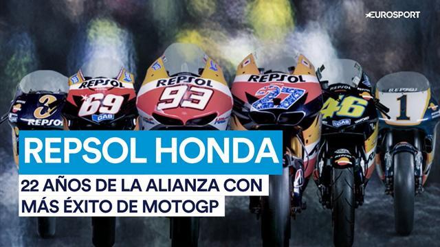 Repsol Honda: 22 años de la alianza más exitosa de la MotoGP