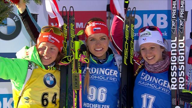 SP v biatlonu pokračuje v Rakousku