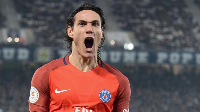Ligue 1, Girondins-PSG: Cavani ya apunta hacia el Barça (0-3)
