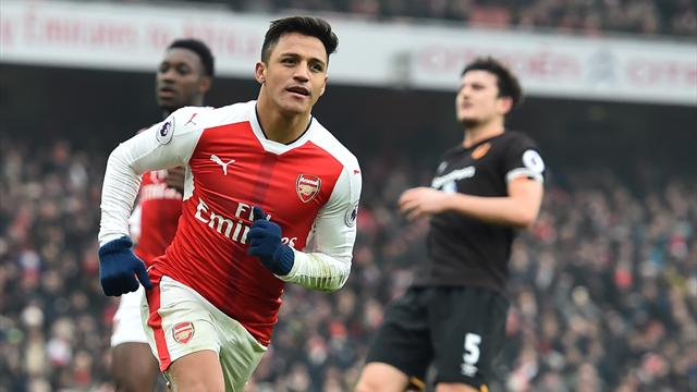 Tale of two handballs as Sanchez leads Arsenal to crucial win over Hull