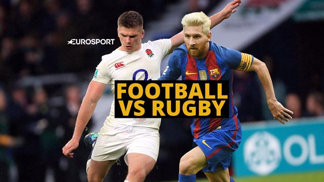 Football vs Rugby: So similar yet so different