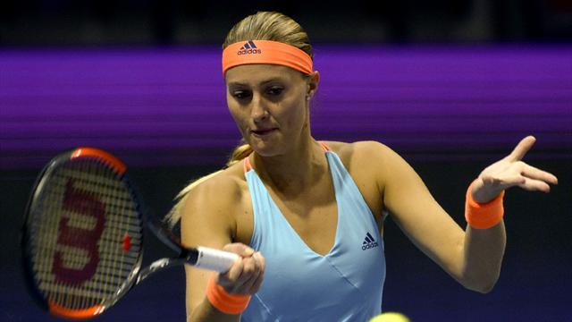 Mladenovic crée la sensation en s'offrant Pliskova, numéro 3 mondiale