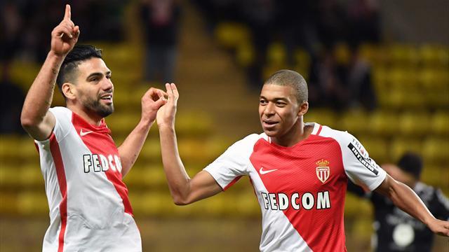 Mbappe scores hat-trick as leaders Monaco rout Metz