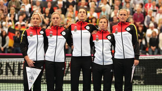 WATCH: Nazi-era anthem sung accidentally ahead of Fed Cup match