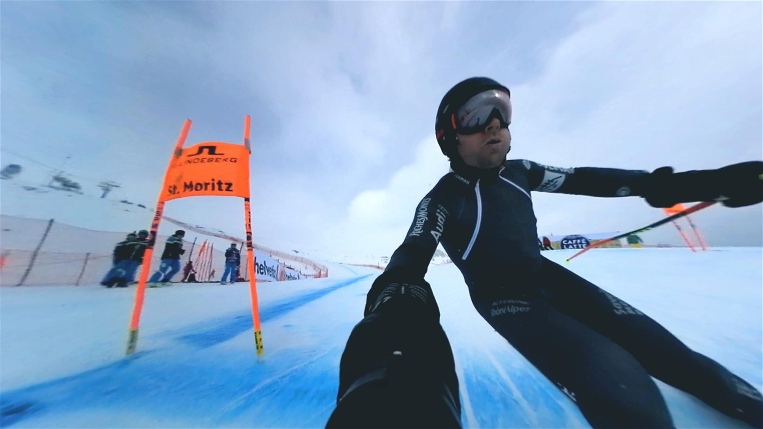 Онлайн секс на горных лыжах