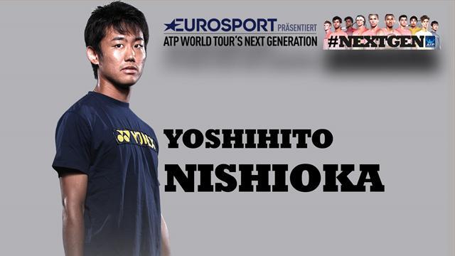 """Nishioka exklusiv: """"Bei Federer sieht alles so leicht aus"""""""