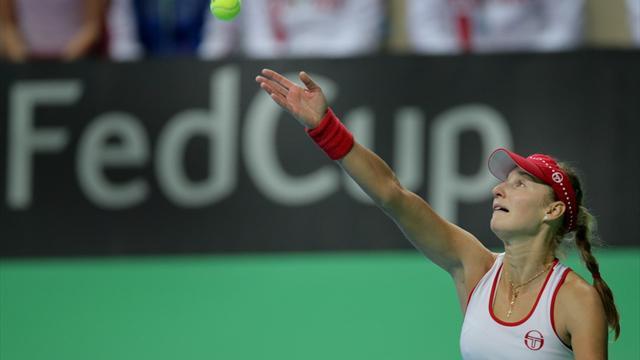 Макарова вновь вывела Россию вперед в матче с Китайским Тайбэем