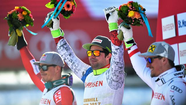 Фойц стал чемпионом мира в скоростном спуске