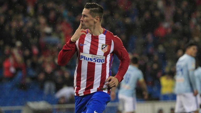 Torres - Atletico Madrid-Celta Vigo - Liga 2016/2017 - LaPresse/EFE