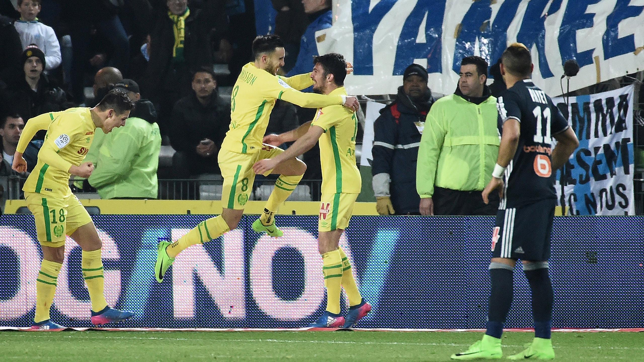 Marseille craque à Nantes