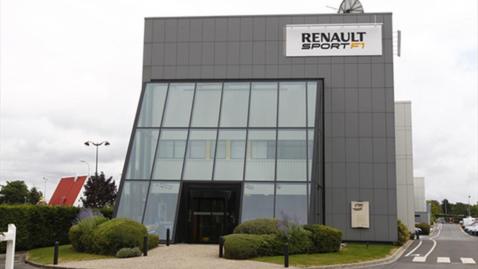 renault f1 se sent l 39 troit dans ses locaux de viry ch tillon saison 2017 formule 1. Black Bedroom Furniture Sets. Home Design Ideas