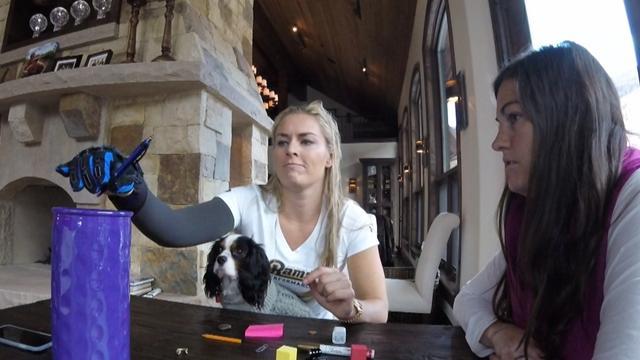 'Chasing History' con Lindsey Vonn: Primeros días después del accidente