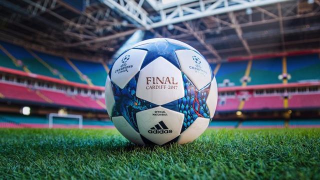 УЕФА представил новый мяч— Лига чемпионов