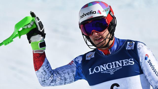 Эрни стал чемпионом мира в горнолыжной комбинации